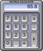 Graphic of a calculator