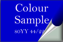 Colour sample pot graphic