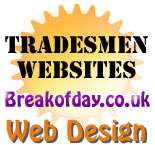 Tradesman Websites. To advertise your business & services online