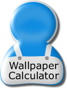 Wallpaper, ceiling, lining paper, paint and tile calculators