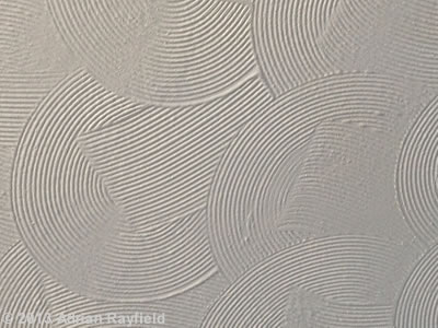 drywall texture over wallpaper
