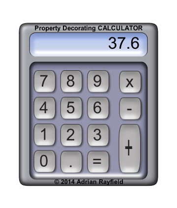 image of calculator with 37.6 in the display