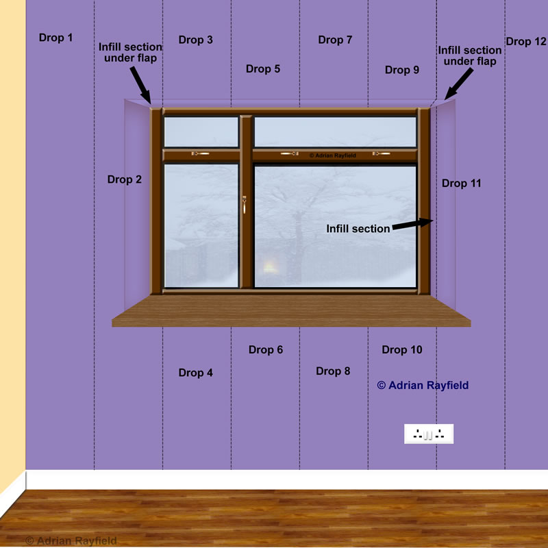 How To Wallpaper Around A Window Or Door Reveal