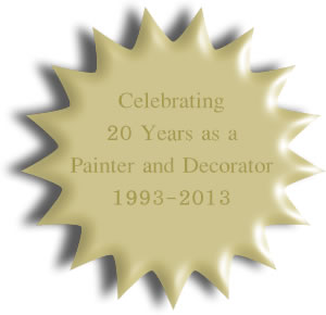 20 Years as a Painted and Decorator