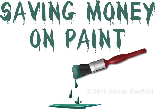 Saving Money On Paint
