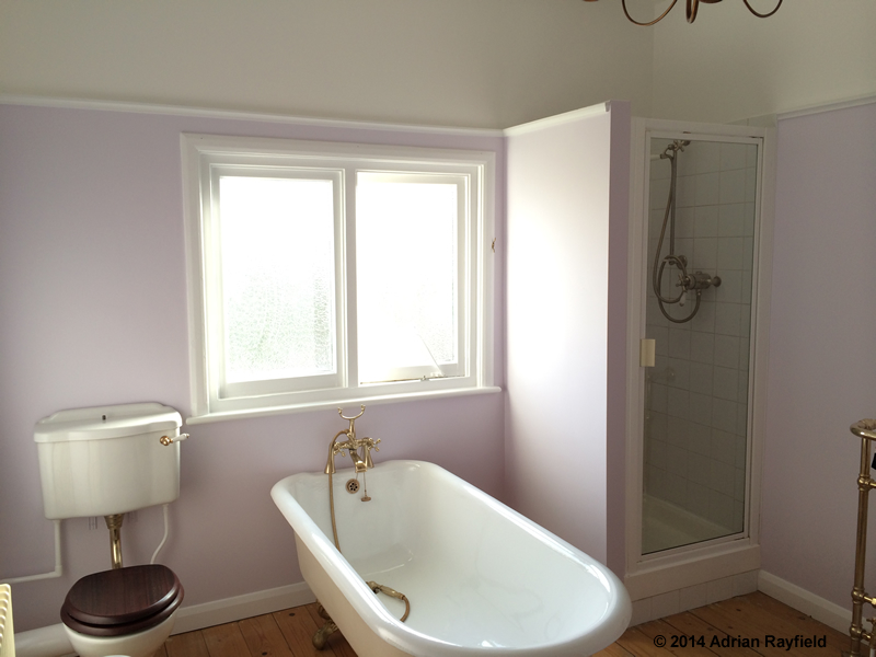 How To Paint A Bathroom Property Decorating