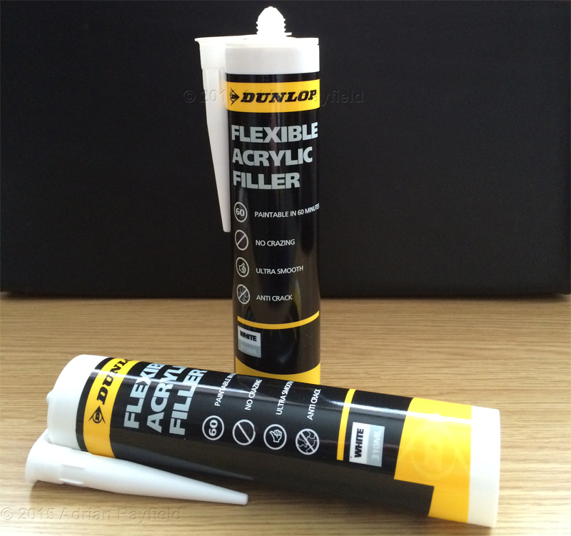 Dunlop Flexible Acrylic filler tubes