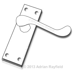 Door Handle drawing