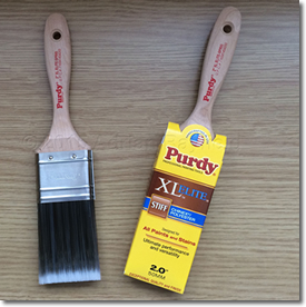 Paint brush and paint brush in cover